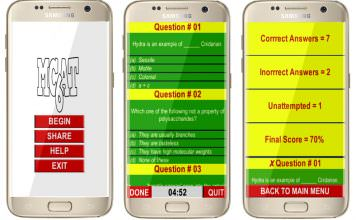MCAT is is the best android app on Play Store.