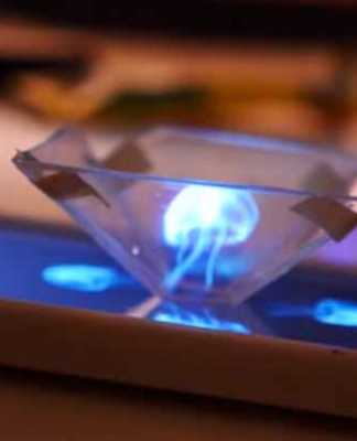 how to make 3d hologram smartphone