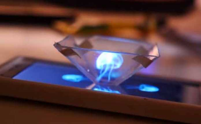 how to make 3d hologram smartphone