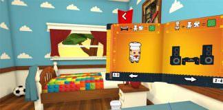 Daydream VR game Lego BrickHeadz Builder VR