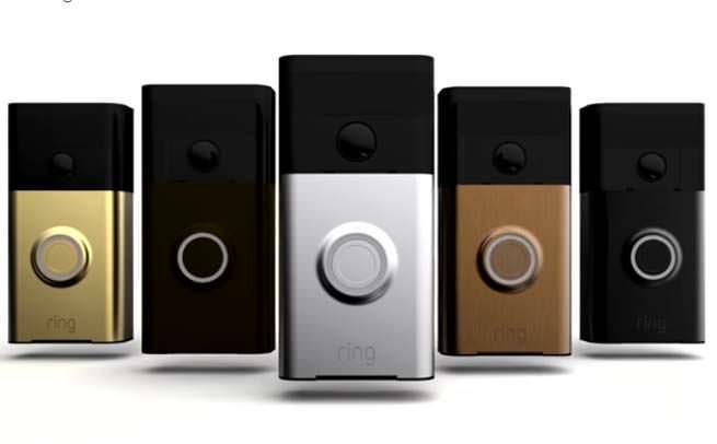 Ring WiFi Video Doorbell faceplate varieties