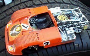 Man Builds Iconic Porsche Out of Japanese Car Parts